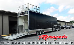 40' Renegade (3 car) Stacker Trailer  for sale $30,000