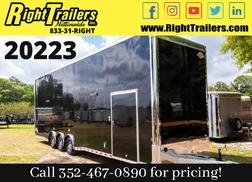 2021 8.5x34 Continental Cargo Stacker Race Trailer