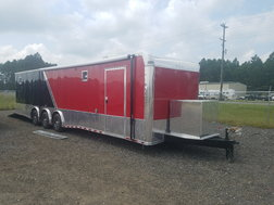 8.5x36 Triple Axle Racing Trailer  for sale $23,914