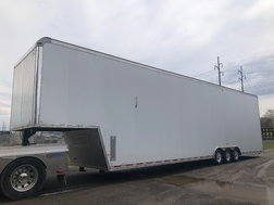 2008 MTI 48' Gooseneck Stacker Trailer