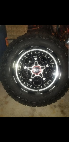 KMC XD 837 demodog wheels and Nitto 285 65 20 tires.   for Sale $1,250
