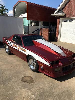 1984 Back half Camaro