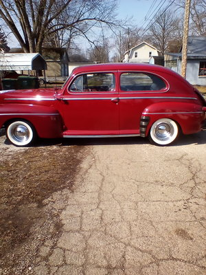 1946 ford super deluxe 2door sedan