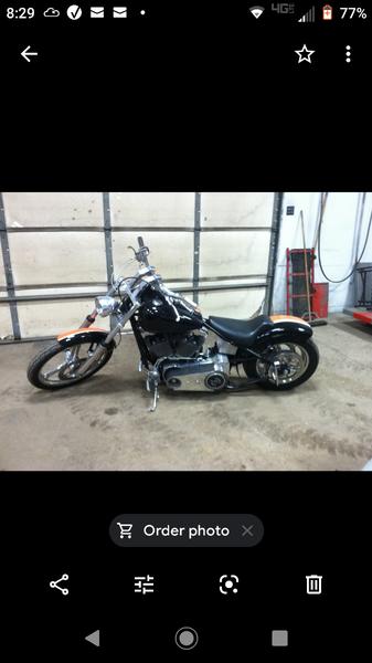 Custom Harley  for Sale $8,500