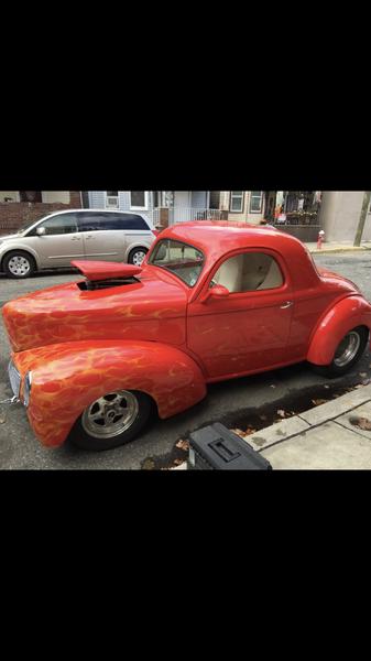1941 BLOWN HEMI WILLYS PRO STREET  for Sale $69,000