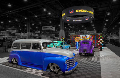 48 Anglia 2018 SEMA House of Colors booth entry