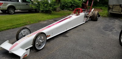 Dan Page RED, top dragster
