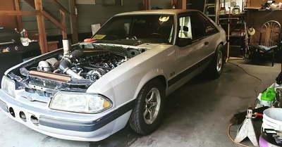 1991 Mustang Built Ls Turbo