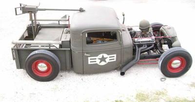 1934 International Harvester Rat Rod