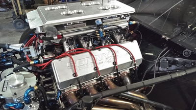 Sonny's 903 with EFI and 5 stages of nitrous