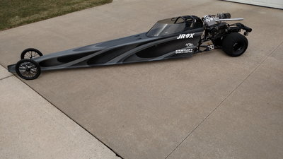 2010 Half Scale Swing Arm Junior Dragster