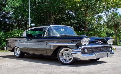 1958 Chevrolet Bel air Hardtop Sport Restomod
