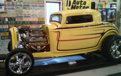 1932 Ford Three window