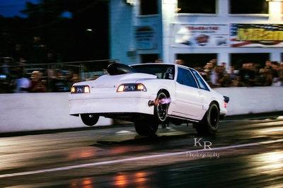 Mustang 1/8 mile NT drag car