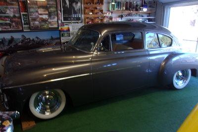 1951 chevy fast back full custom