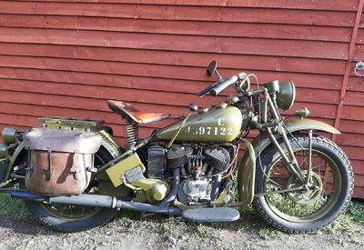 1942 Indian 741B