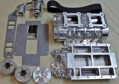MoPar 440-426 8-71 NEW Polished Blower Kit  2225 Blower