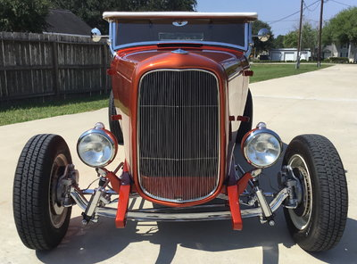 1932 Ford All Steel Highboy Roadster