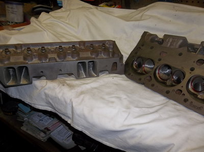 S/B Chevy 292 Turbo Heads