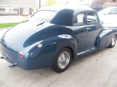 Nice 1948 Chevy Stylemaster Coupe Street Rod-Runs Great