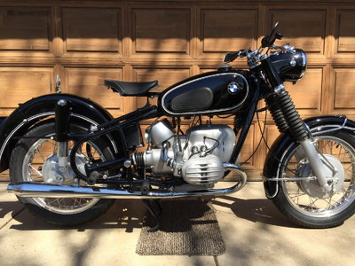 Restored 1968 BMW R60US