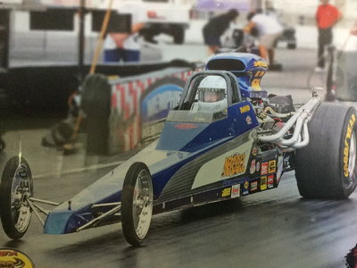 220 in. Super Pro/Super Comp Dragster
