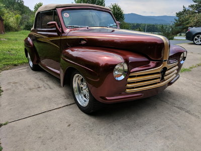 1947 ford rag top