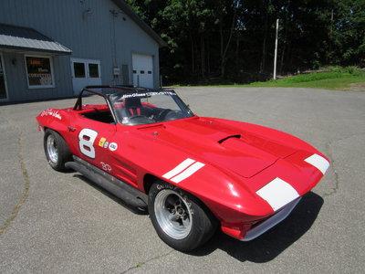 1964 Corvette B/Production Roadster SCCA SVRA Road Racer Vin