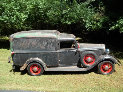 1934 Dodge Humpback Panel Delivery