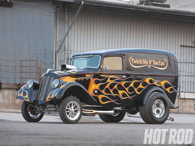 1933 Willys Sedan delivery