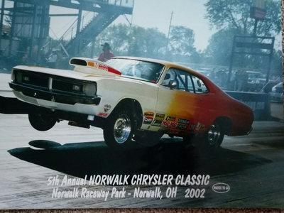 71 Dodge Demon & '28 Enclosed 2000 Millennium Trailer