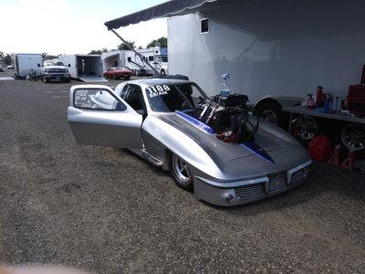 Prostart race car. 63 corvette