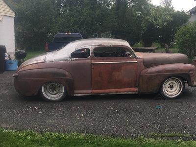 1948 ford chopped