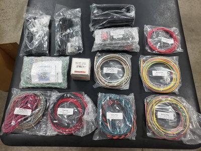 K&R wiring kit plus switch box