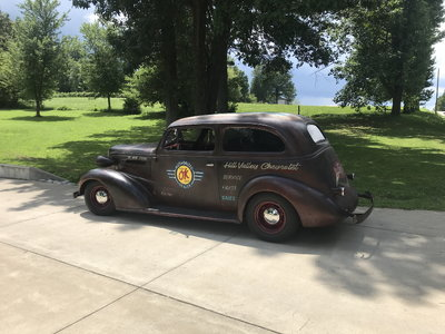 1937 Chevrolet flatback