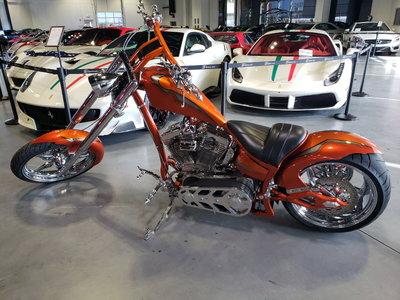2005 Ultra Cycle Custom Chopper - S&S 1850 - 6 Speed Bel