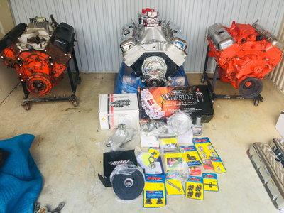 Big Block Engines 454, 454, 396 sold