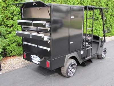 Elliott's Mule Cart