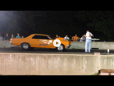 64 Pontiac GTO back half drag