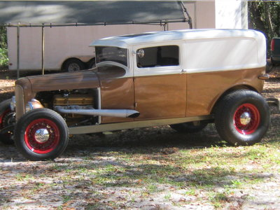 29 FORD SEDAN DELIVERY BB MOPAR 727 8 3/4