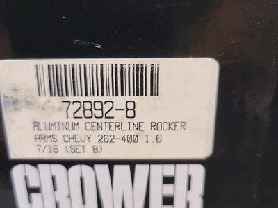 SBC CROWER 72892-8 1.6 ROCKER ARMS
