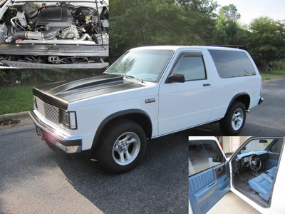 1987 Chevrolet S10 Blazer