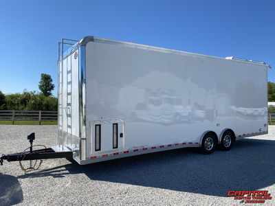 2021 United Super Hauler 28' Sprint Car Hauler