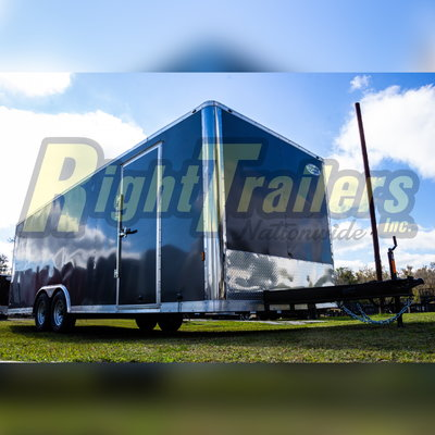 2021 8.5' x 24' Continental Cargo Race Trailer