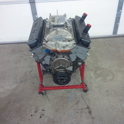350 Chevy Racing Engine