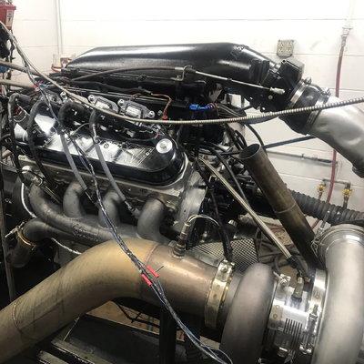 1,500 HP, Single Turbo, Hydraulic Roller, 427ci LS Engine