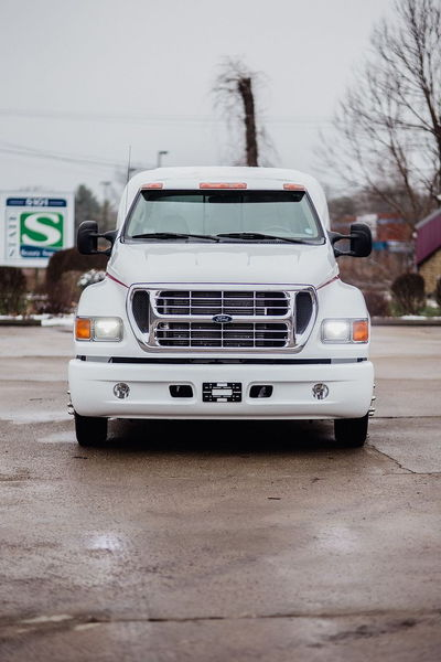 2002 FORD F650 SUPERCREWZER CAT 300HP  for Sale $49,950