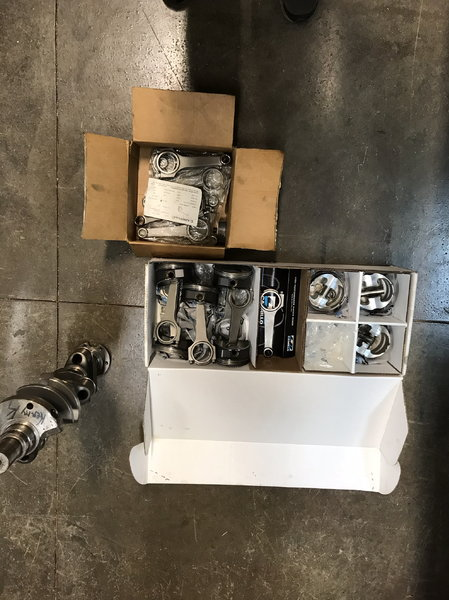 Small block chevy rods and crankshaft