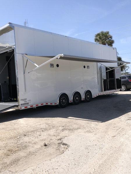2019 Bravo 32' Stacker Race Trailer  for Sale $54,999