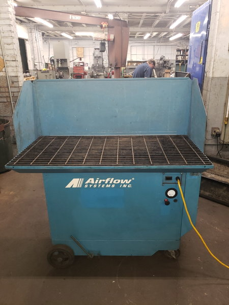 AIRFLOW SYSTEMS DTH-1700 DOWN DRAFT TABLE  for Sale $1,000